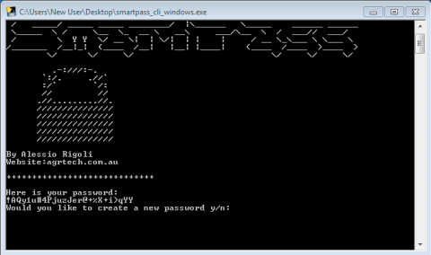 SmartPass is a free utlity to help you generate randomised and secure passwords. wonderful Screen Shot